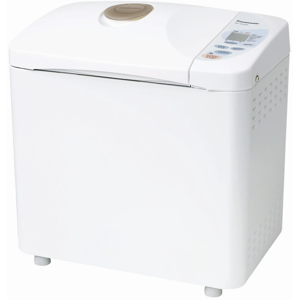 SD-YD250 Automatic Bread Maker with Yeast Dispenser, White