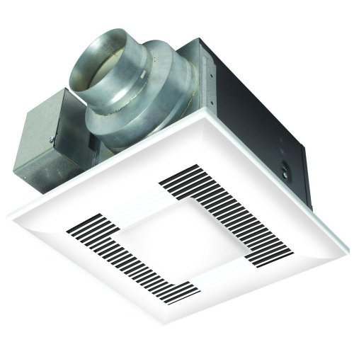 80 Cubic Feet Per Minute Vent FAN With Light *WHILIT