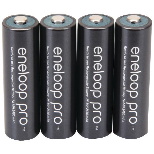 PANASONIC BK-3HCCA4BA eneloop Rechargeable XX Batteries (AA; 4 pk)