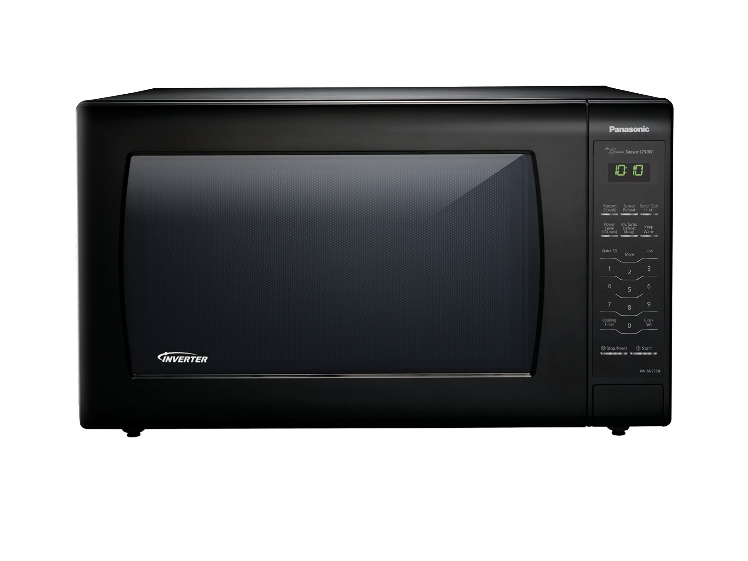 2.2 cu. ft., 1250w Countertop Microwave Oven with Inverter Technology™, Black