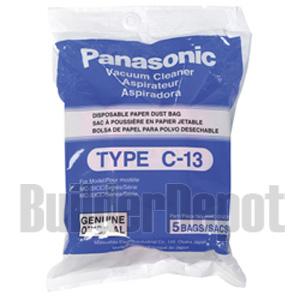 Panasonic AMCS5EP VACUUM BAGS 5 PACK FOR MC3920