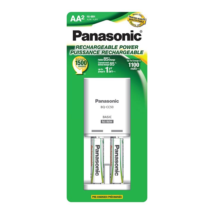 Panasonic Economy CC50 Charger w/1AA 1100