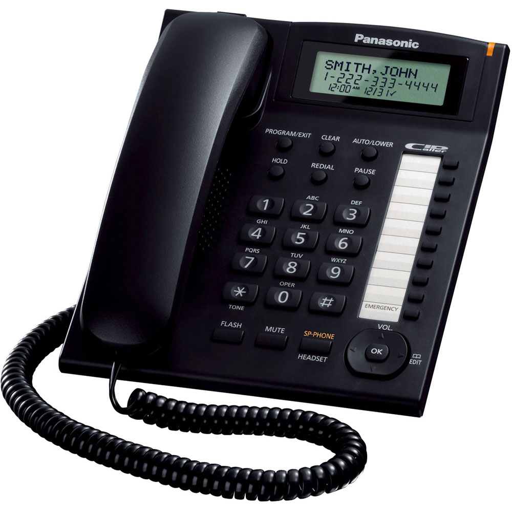 Intergrated Corded Phone System,Speakerphone,CID, LCD,Wall Mountable