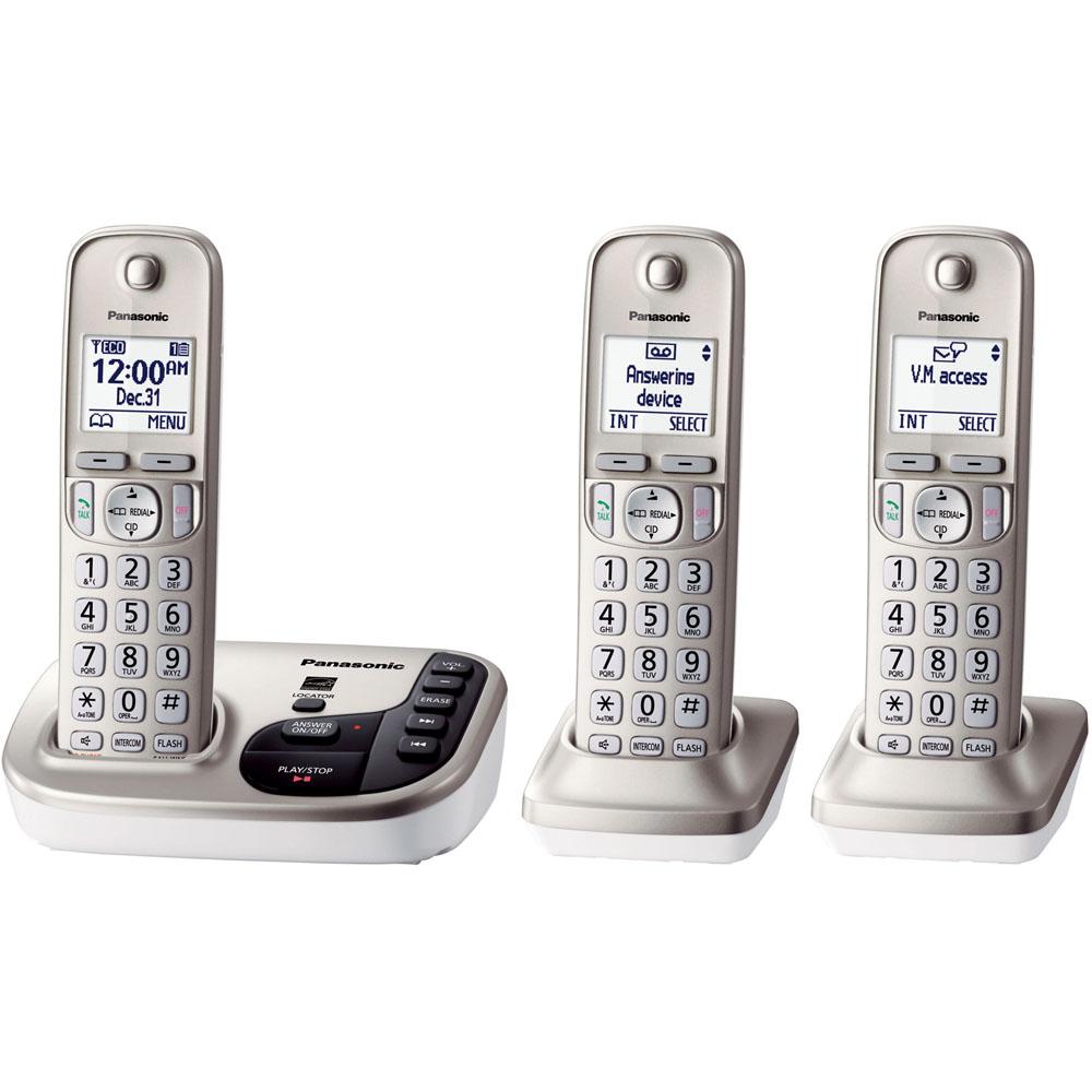 Dect 6.0 Plus Expandable Digital Phone w/ 3 Handsets