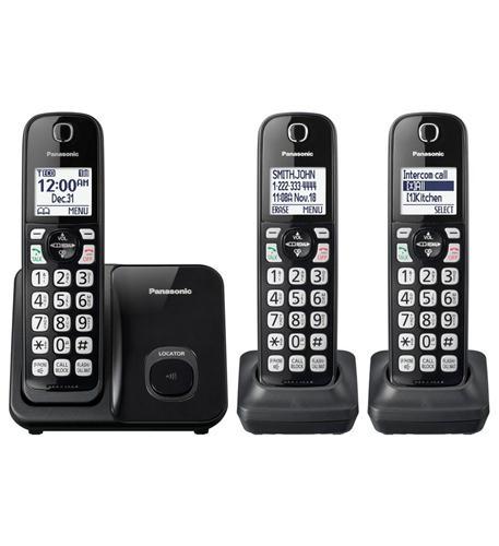 "Dect 6.0 Plus,3HS,Talking CID,150 Call Block,1.6""white LCD,Handset Locat"