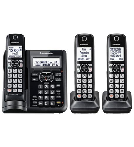 DECT 6.0,3HS,Range Boost,Noise Reduc,250Call Block,DK,TAD,Large LCD,Voic