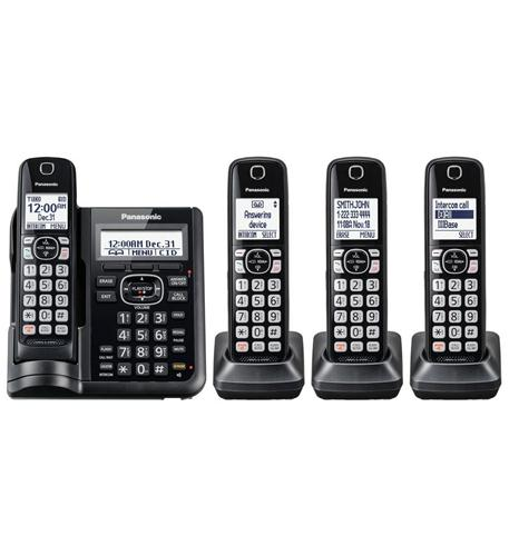 DECT 6.0,4HS,Range Boost,Noise Reduc,250Call Block,DK,TAD,Large LCD,Voic