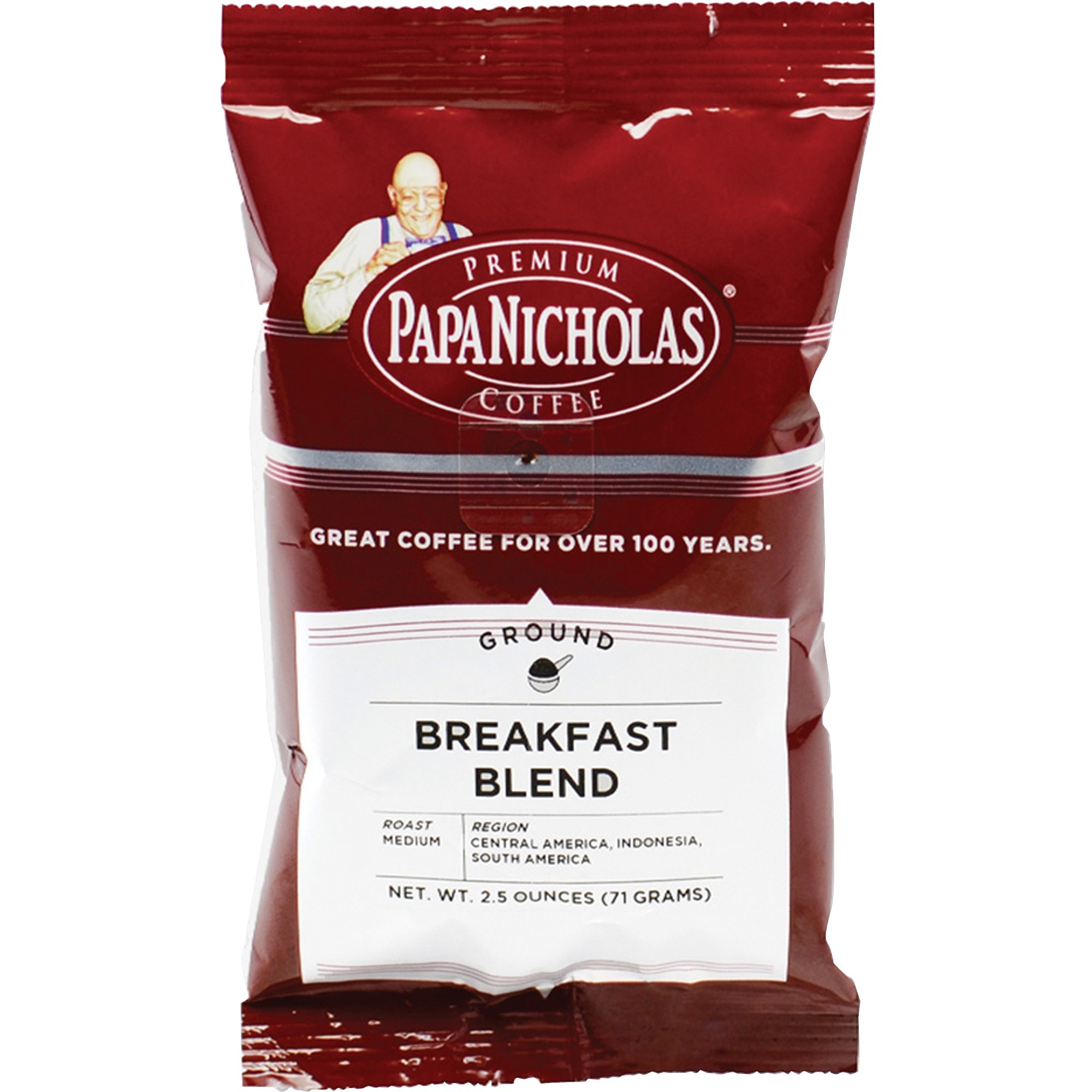 Premium Coffee, Breakfast Blend, 18/Carton