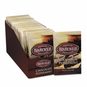 Premium Hot Cocoa, Chocolate Peppermint, 24/Carton
