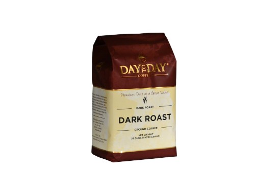 100% Pure Coffee, Dark Roast, 28 oz