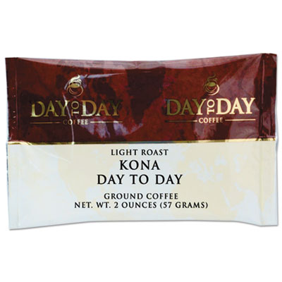 100% Pure Coffee, Kona Blend, 2 oz Pack, 42/Carton