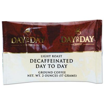 100% Pure Coffee, Decaffeinated, 2 oz Pack, 42/Carton