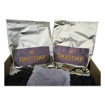 100% Pure Coffee, Dark Roast, 2 oz, 36/Carton
