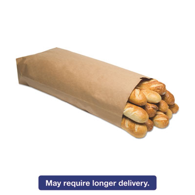 1/4 BBL Paper Grocery Bag, 52lb Kraft, Standard 17 x 6 x 29 1/2, 250 bags