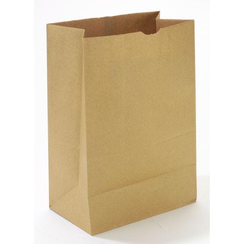 1/6 BBL Paper Grocery Bag, 75lb Kraft, Standard 12 x 7 x 17, 400 bags