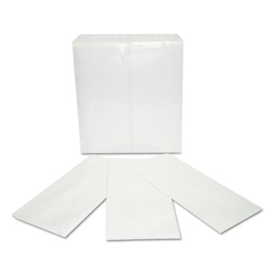 Paper Napkins, 2-Ply, White, 15 x 17, 150/Pack, 20 Pack/Carton