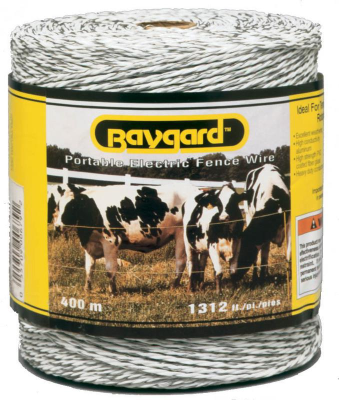 679 400M 1312 Ft. White Baygar Wire