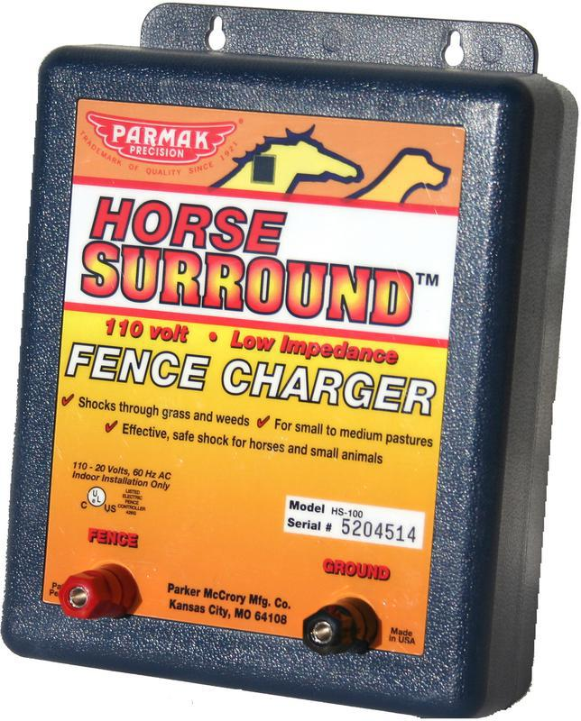 HS-100 HORSE FENCE CHARGER