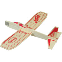Guillow's Jetfire Hand Launched Glider, Balsa Wood