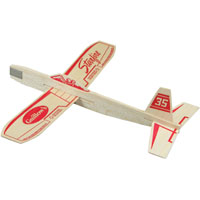 Guillow's Starfire Hand Launched Glider, Balsa Wood
