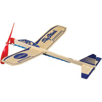 Guillow's Sky Streak Rubber Band Airplane, Balsa Wood
