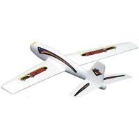 Guillow's Sky Raider Hand Launched Glider Plane, Foam