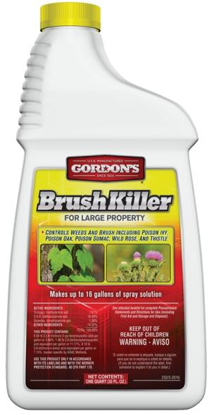 2321862 QT CONC BRUSH KILLER