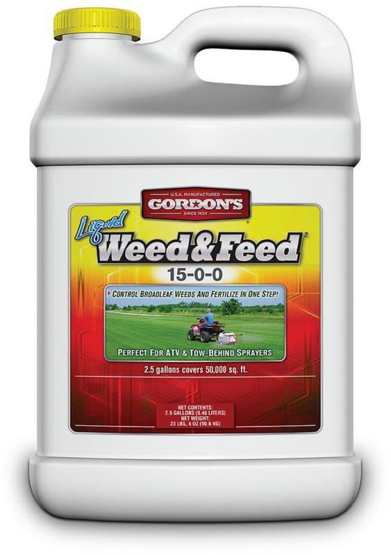 7311122 2.5GA CONC WEED & FEED