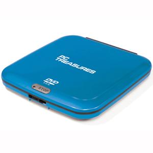 External DVD-ROM Drive - Ice Blue
