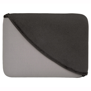 FlipIt! Neoprene Sleeve for Ipad - Gray/Black