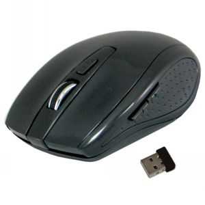 ClickIt! Classic Wireless Mouse - Black