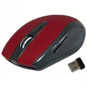 ClickIt! Classic Wireless Mouse - Garnet Red