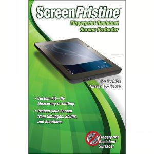 Fingerprint - Resistant Screen Protector for Toshiba Thrive Tablet