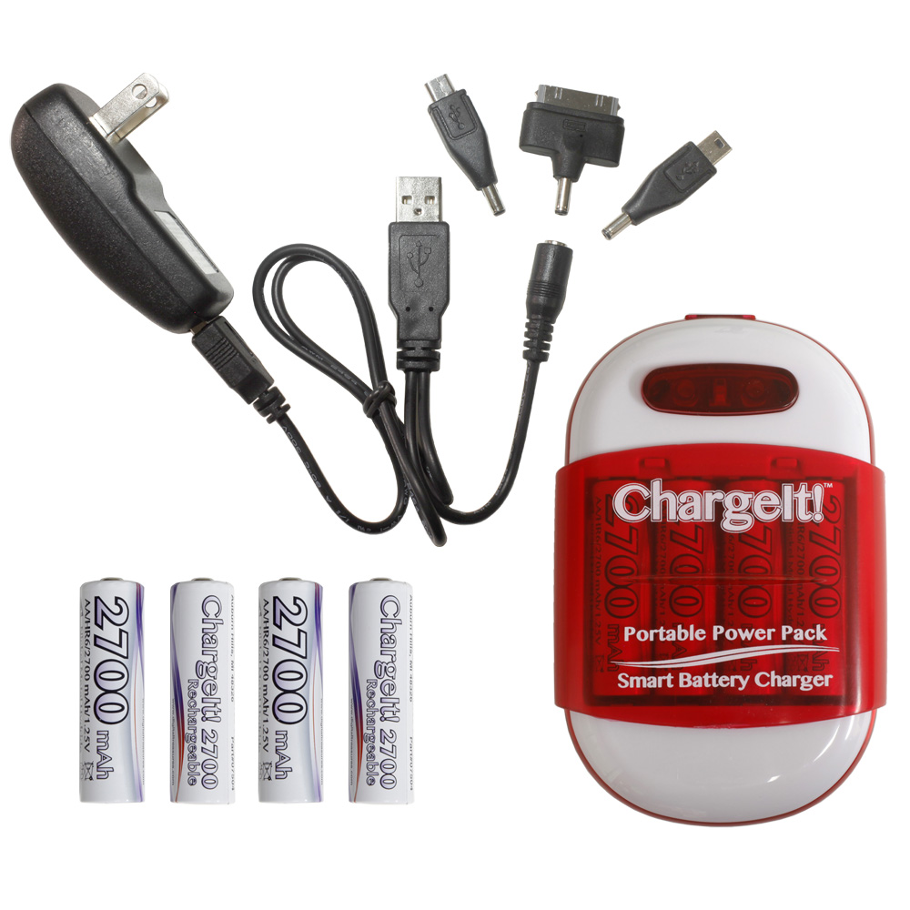 ChargeIt Portable Power Pack for Charging Mobile Devices