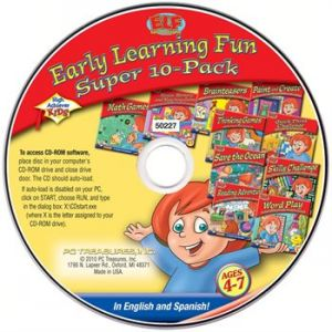 CD High Achievers Early Learning Fun, 8-Pack