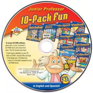 CD High Achievers Junior Professor, 8-Pack