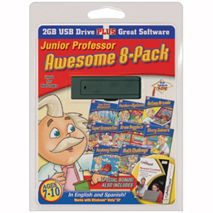 USB High Achievers Junior Professor, 8-Pack