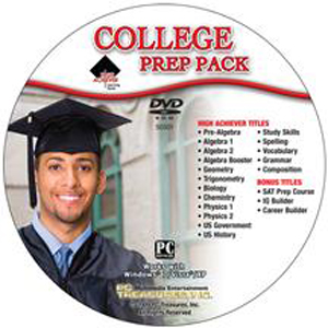 CD High Achiever College Prep Pack JC