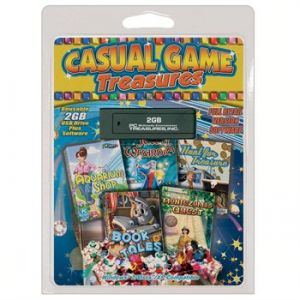 USB Casual Game Treasures, 5-Pack