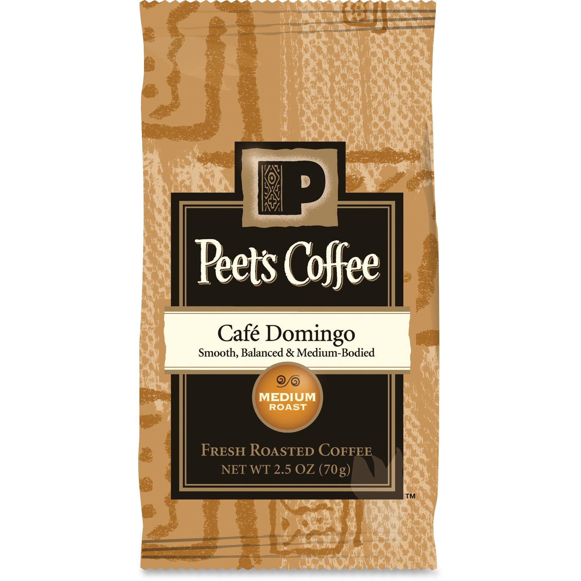 Coffee Portion Packs, Caf� Domingo Blend, 2.5 oz Frack Pack, 18/Box
