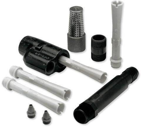 4 INCHES DEEP WELL JET KIT