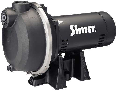 SIMER SPRINKLER PUMP 1.5 HP