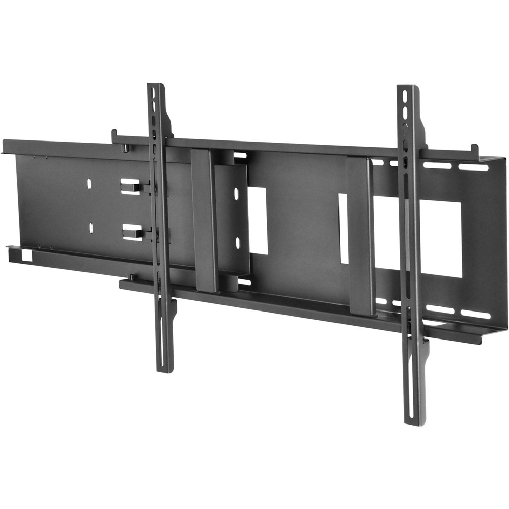 Wall Mount with Slide-Out Media Player Storage