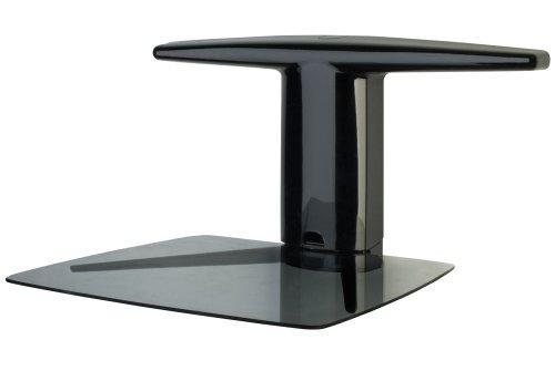 SmartMount A/V Component Wall Furniture - Single Stud Dual Shelf