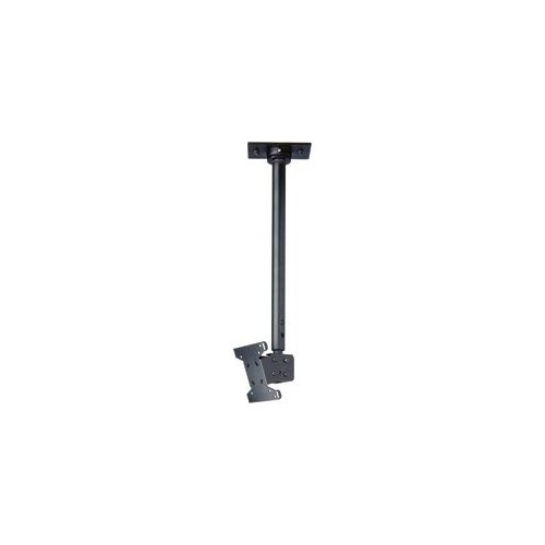 "LCD Ceiling Mount with Cable Management Covers, 18"" to 30"" Adjustable"