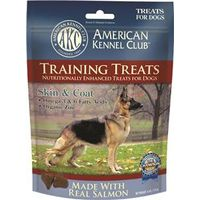 Pet Brands AKCHEL0015 American Kennel Club Dog Treats, Salmon - Skin And Coat, 6 Oz
