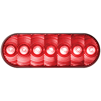 Peterson 821 Turn and Tail Light Kit, 9 - 16 V, LED, Red