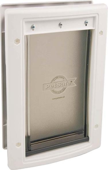 Freedom HPA11-10968 Large Pet Door, 10-1/8 in W X 15-3/4 in D X 1/16 - 1-3/4 in T, 1 - 100 lb Pet