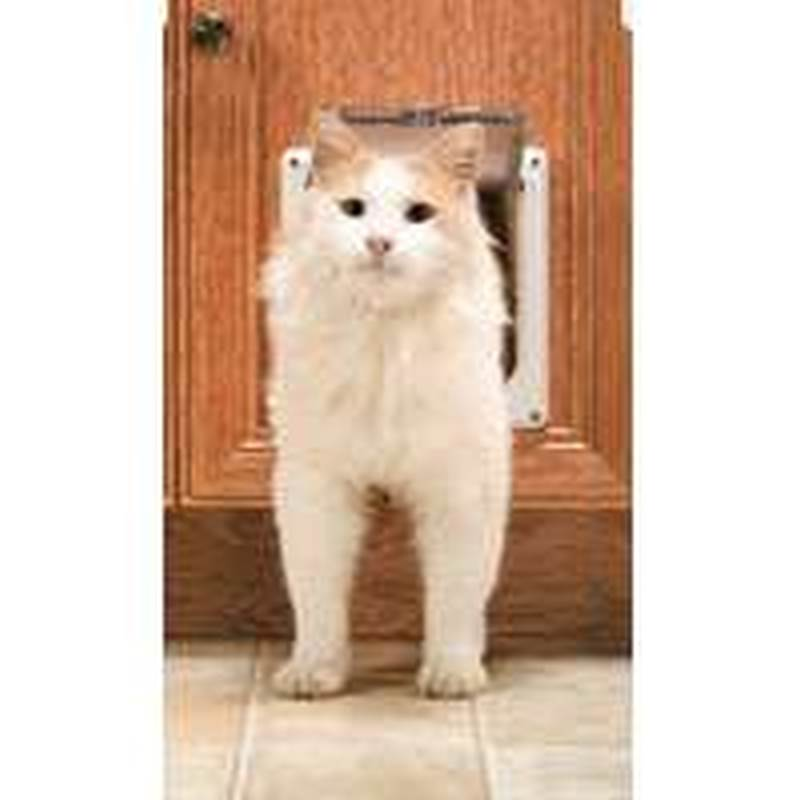 Petsafe CD10-050-11 2-Way Cat Flap, 12 lb Pet, White