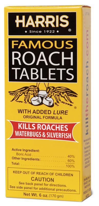 HRT-6 6Oz ROACH TABLETS